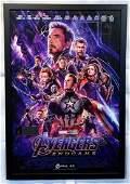AVENGERS ENDGAME Cast SignedFramed Movie Poster