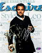 LEONARDO DiCAPRIO Signed Esquire Magazine Cover Photo
