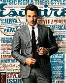 AVENGERS CHRIS PRATT Signed Esquire Magazine Cover