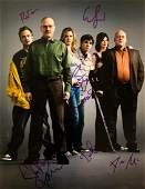 BREAKING BAD 6 Signatures Cast signed 11x14 photo