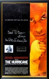 """THE HURRICANE"" Original Signature with Signed Movie"