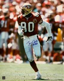 """49ERS"" Jerry Rice Signed 16X20 Photo"