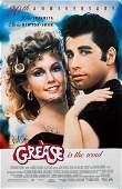 GREASE Cast Signed Movie Poster