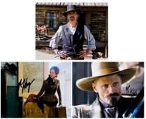 """""""APPALOOSA"""" Mortensen/Zellweger/Irons Signed 8x10 Photo"""