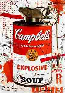 AIIROH 'Explosive Soup' (red) Unique 1/1 HPM