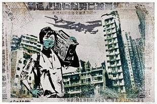 EDDIE COLLA Air Kowloon Archival Pigment Print