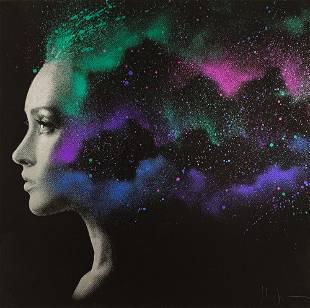 JOHN DOE Nebula 31 RARE HandFinished Screen Print