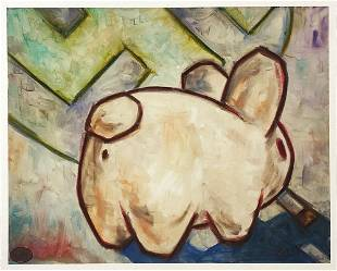 FRANK KOZIK Smorkin Labbit RARE Giclee Print