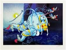 JEFF GILLETTE 'Cinderella Carriage Crash' Giclee Print