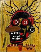 OGP 'Head' Original Mixed Media on Canvas