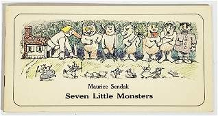 MAURICE SENDAK Where Wild Things Are SIGNED Book