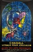 MARC CHAGALL 'Tribe of Benjamin' Original Exhibition