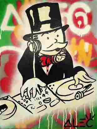 ALEC MONOPOLY ALEC MONOPOLY 'DJ Monopoly' *ORIGINAL*