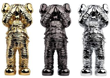 KAWS 'Holiday: Space' Vinyl Art Figure Set