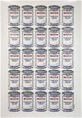 BANKSY 'Tesco Soup Cans' Lithograph Print