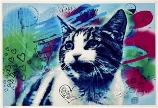 R3L 'Graffiti Cat' Giclée Print