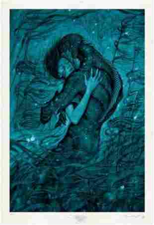 JAMES JEAN 'The Shape of Water' Archival Pigment Print