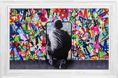 MARTIN WHATSON 'Zero Tolerance' Framed 28-Color Screen