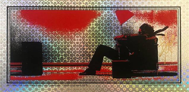BLUNT GRAFFIX 'Blown Away Guy' (Sakura Foil) Handbill