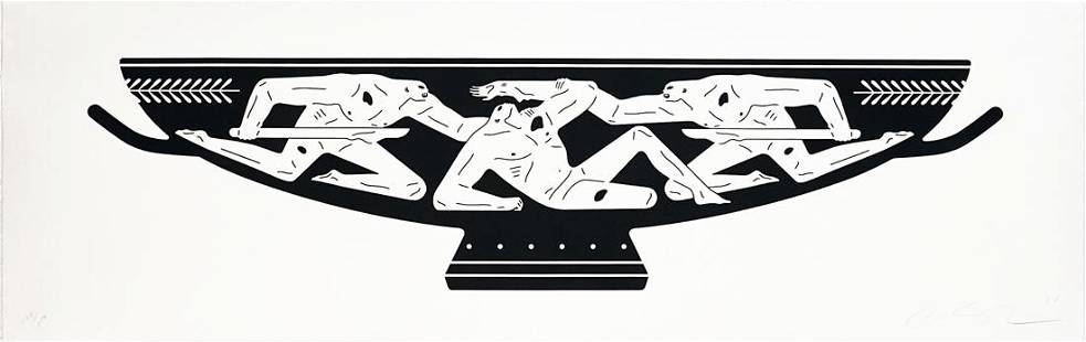 CLEON PETERSON 'End of Empire, Kylix' Screen Print