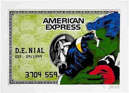 DENIAL 'American Expression' Giclée Print