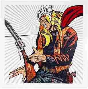 DILLON BOY 'Hammer of God' Lithograph Print