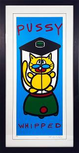 MARCO 'Pussy Whipped' Serigraph Print Framed