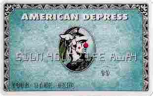 D*FACE x BANKSY 'American Depress' Dismaland Credit C
