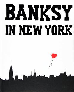 BANKSY in NEW YORK' Book by Ray Mock (2014)
