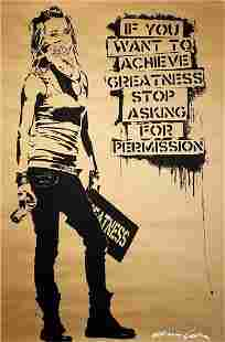 EDDIE COLLA 'Ambition' Offset Lithograph on Paper