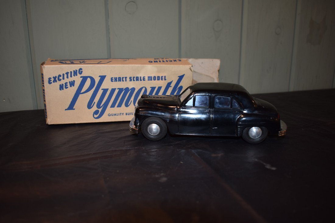 Vintage AMT Motorized Plymouth Model Car