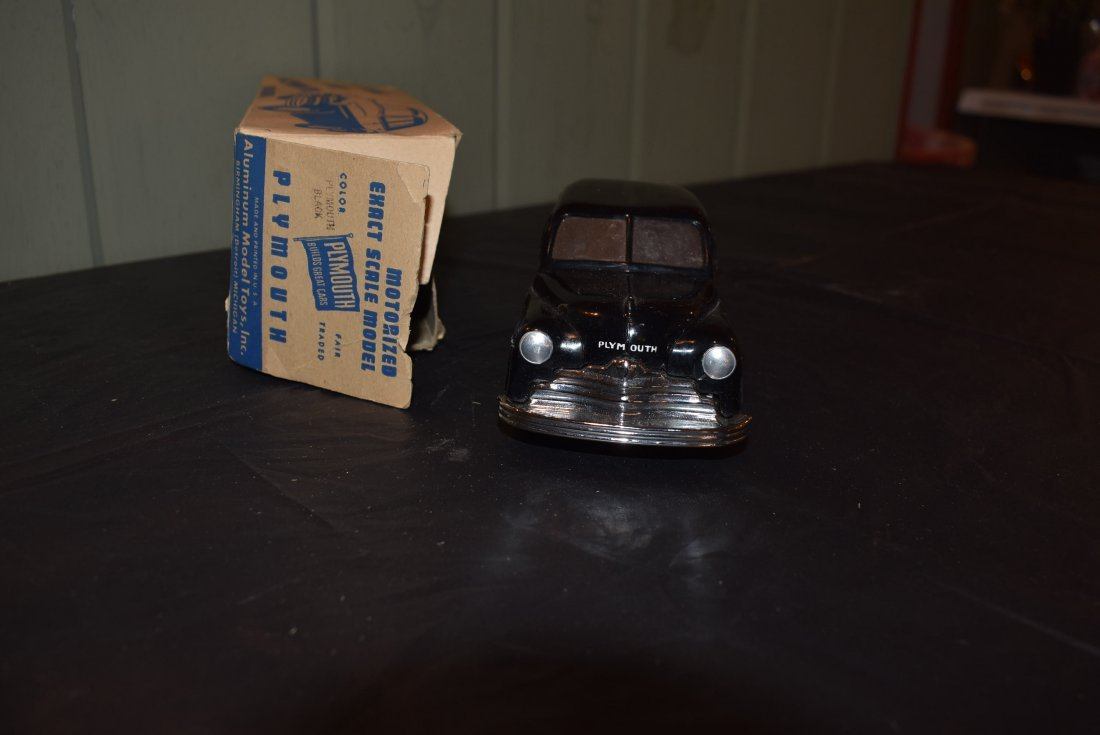 Vintage AMT Motorized Plymouth Model Car - 2