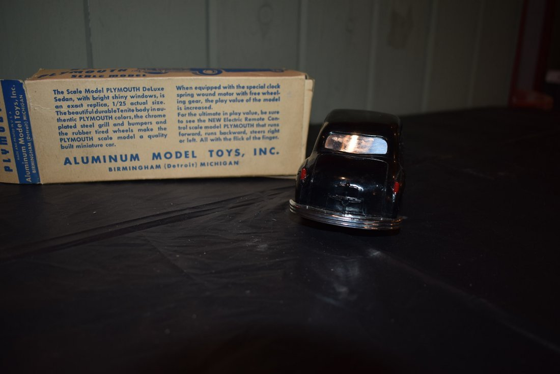 Vintage AMT Motorized Plymouth Model Car - 3