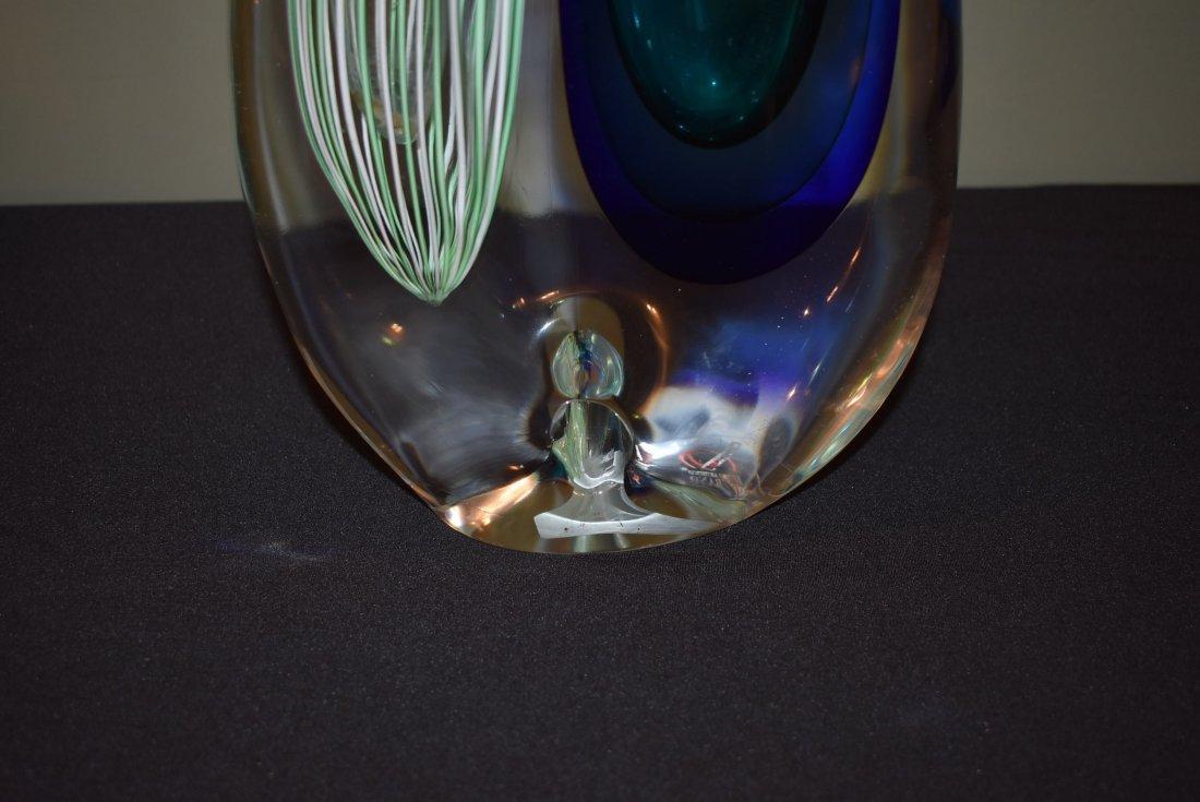 Silvano Signoretto Large Murano Glass Vase - 4
