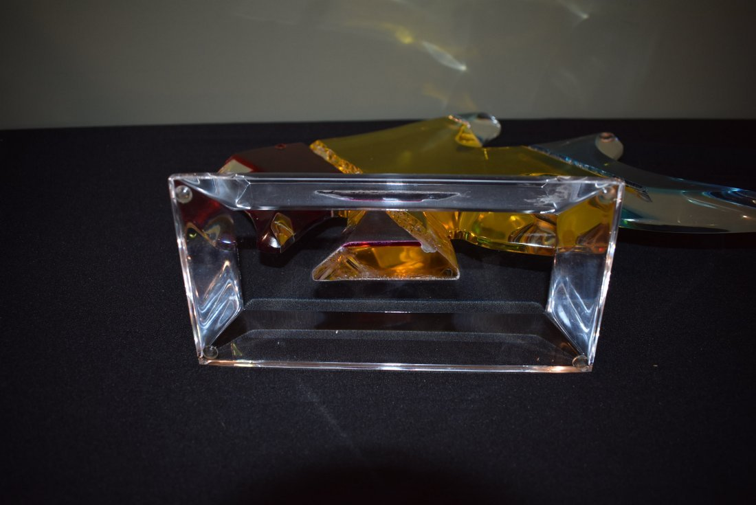 Shalomi Haziza Acrylic Fish Sculpture - 3