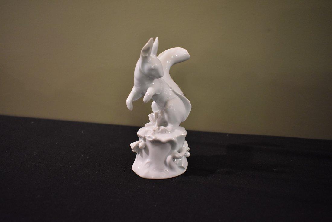 Porcelain Squirrel Figure