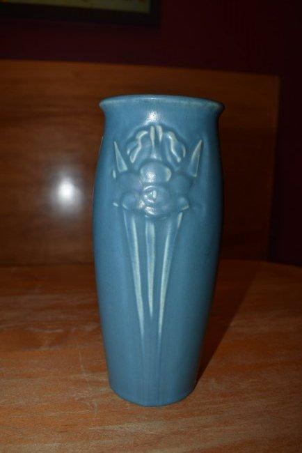 Blue Rookwood Tall Vase