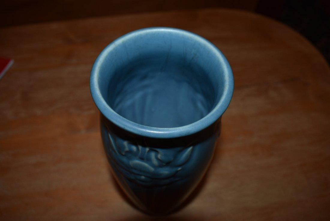 Blue Rookwood Tall Vase - 3