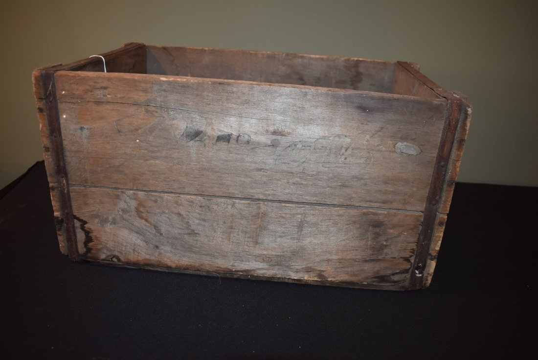 Antique Citizens Beer Brewery Joliet IL Crate - 3