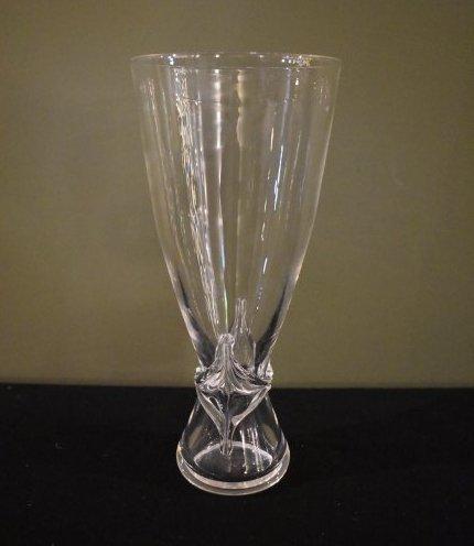 Stuben Glass Crystal Vase
