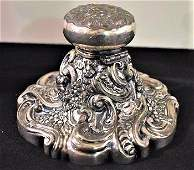 Antique Simpson Hall Miller & Company Ornate Ink Well
