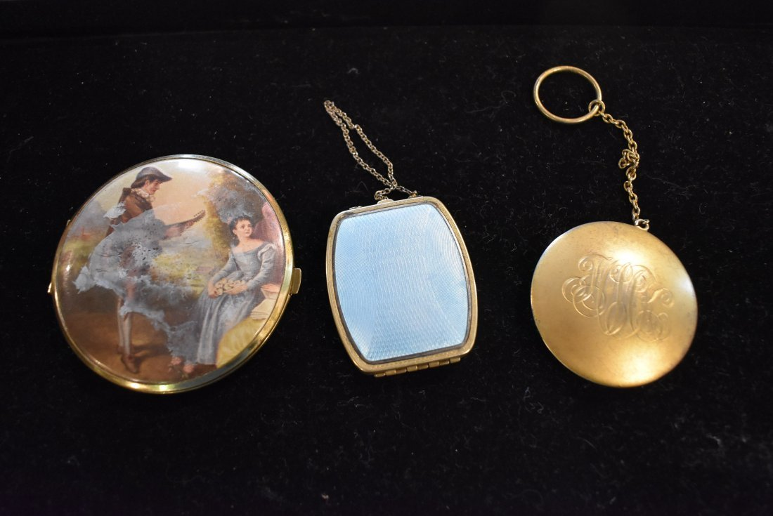 Lot of Vintage Compacts - 2