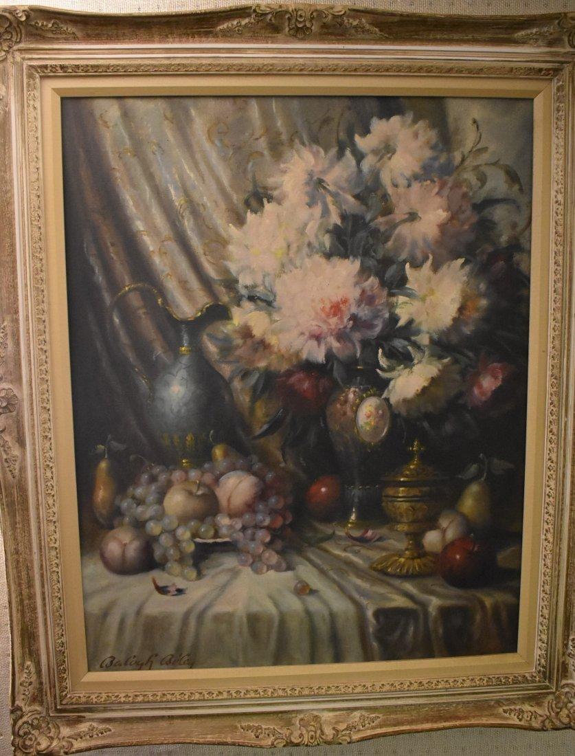 Balogh Bela Still Life Oil on Canvas