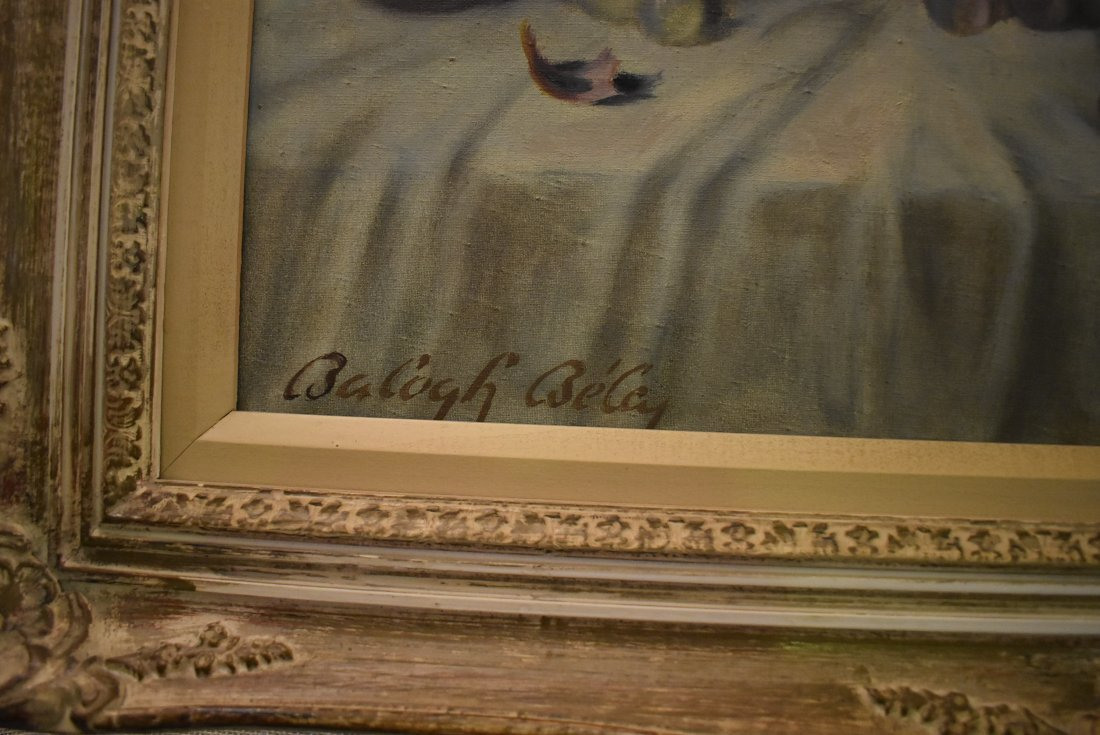 Balogh Bela Still Life Oil on Canvas - 2