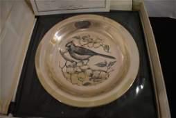 "Franklin Mint Sterlinng Silver Plate ""The Cardinal"""