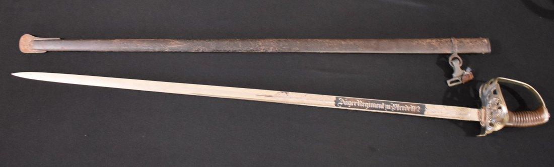WWI Imperial German Jager Regiment Sword