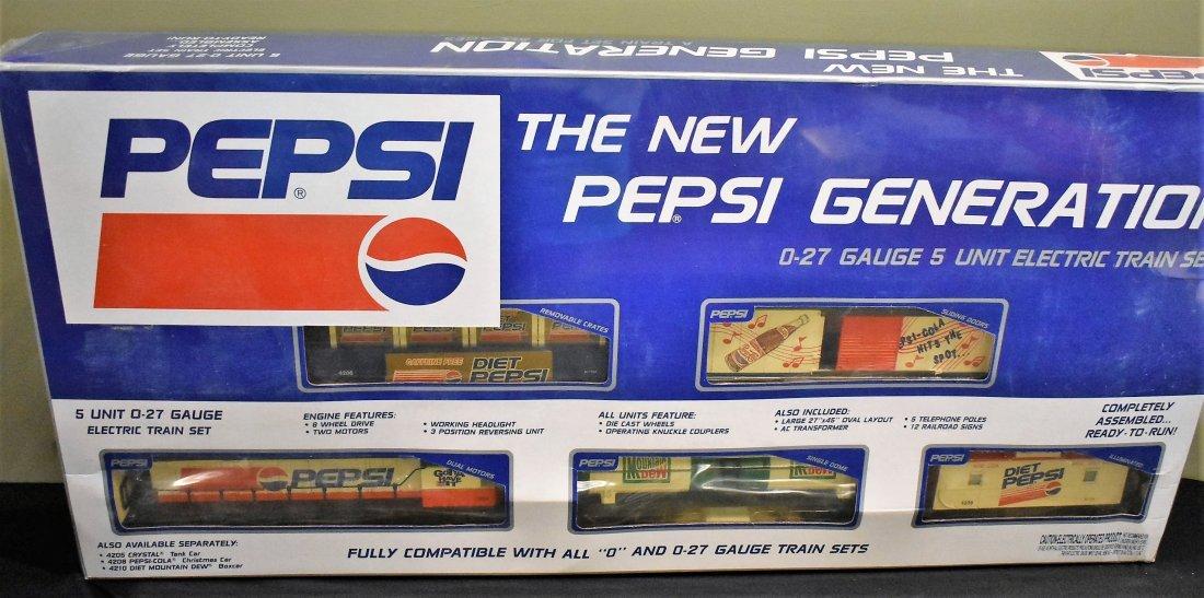 K-Line Pepsi Generation Diesel Train Set NEW