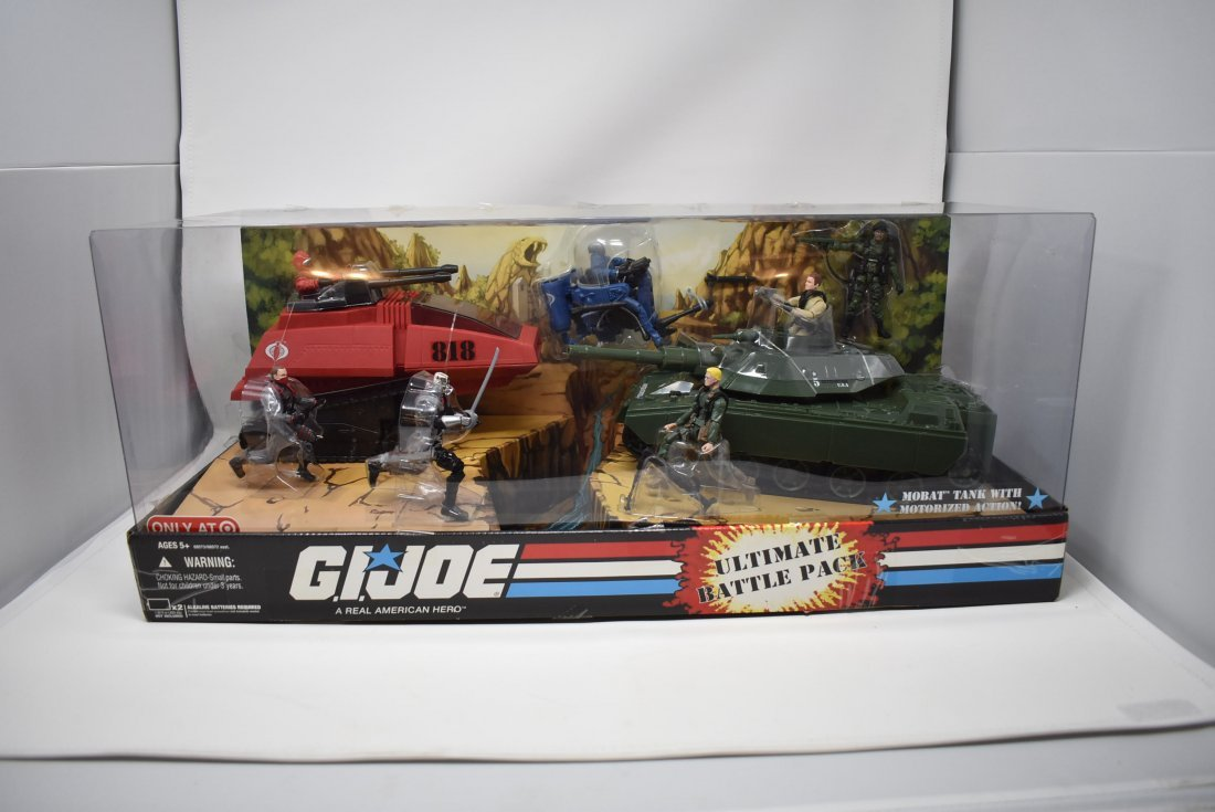 G.I. Joe Ultimate Battle Pack Target Exclusive NEW