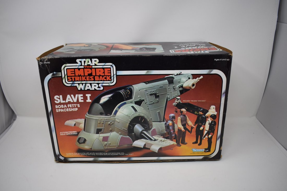 Star wars Empire Strikes Back Slave I Boba Fett w/ Box