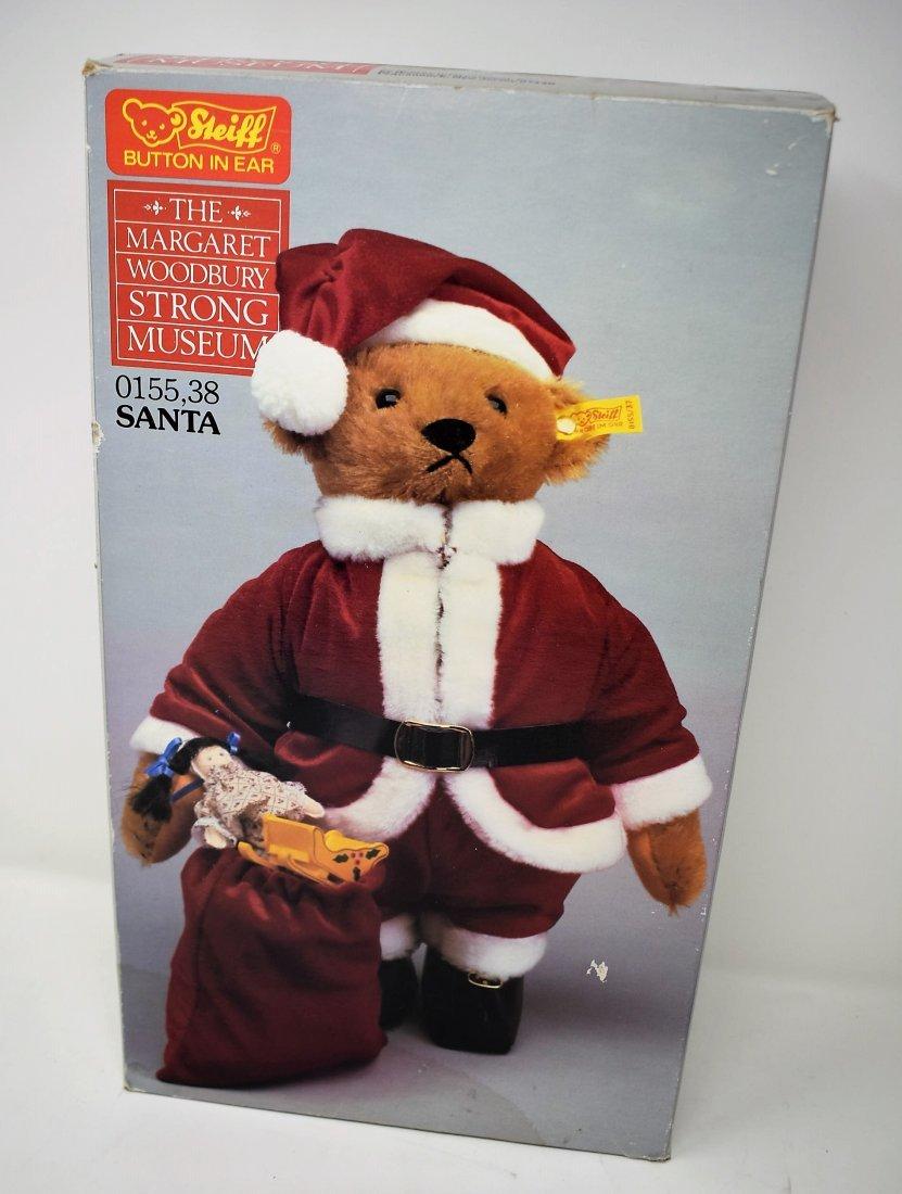 Steiff Santa Bear Margaret Woodbury Strong Museum w/Box